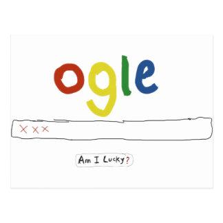 ogle_am i lucky postcard
