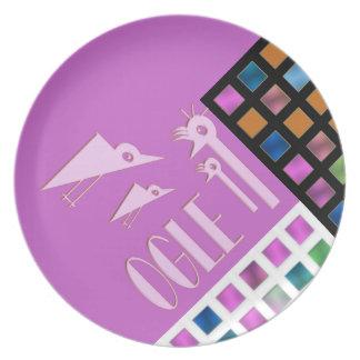 ogle - Design plate