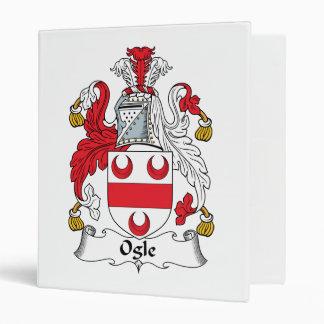 Ogle Family Crest Binders