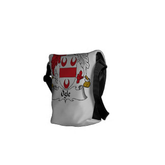 Ogle Family Crest Courier Bags