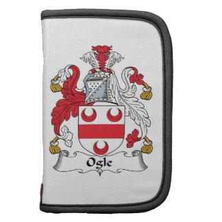 Ogle Family Crest Folio Planner