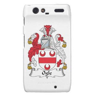 Ogle Family Crest Motorola Droid RAZR Cases