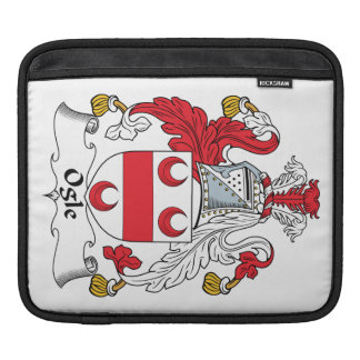 Ogle Family Crest Sleeves For iPads