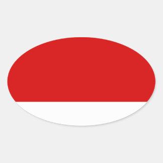 Ogle Oval Sticker