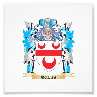 Ogles Coat of Arms - Family Crest Photo