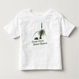 OGNR embroma el logotipo blanco de la aceituna de Polera