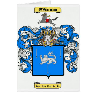 o'gorman card