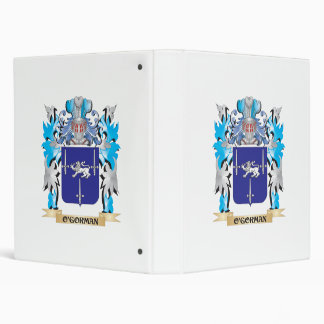 O'Gorman Coat of Arms - Family Crest 3 Ring Binder