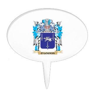 O'Gorman Coat of Arms - Family Crest Cake Pick