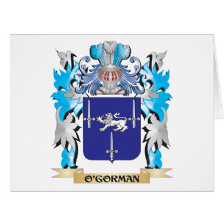 O'Gorman Coat of Arms - Family Crest Cards