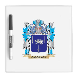O'Gorman Coat of Arms - Family Crest Dry Erase Whiteboards