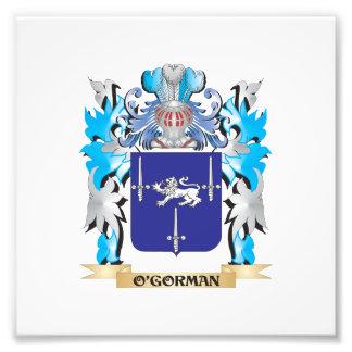 O'Gorman Coat of Arms - Family Crest Photograph