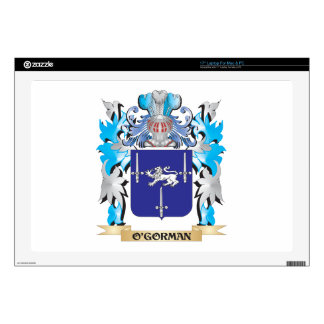 O'Gorman Coat of Arms - Family Crest Laptop Decal