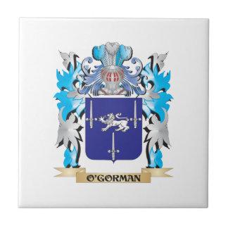 O'Gorman Coat of Arms - Family Crest Ceramic Tile