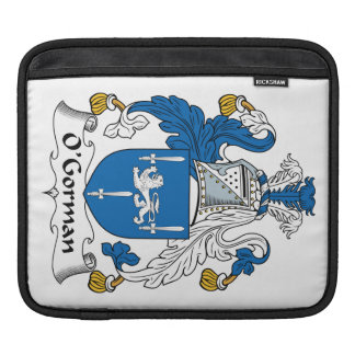 O'Gorman Family Crest Sleeves For iPads