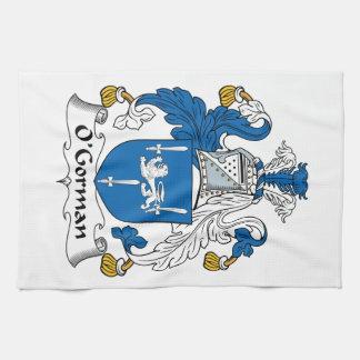 O'Gorman Family Crest Towels