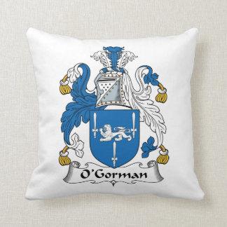 O'Gorman Family Crest Pillow