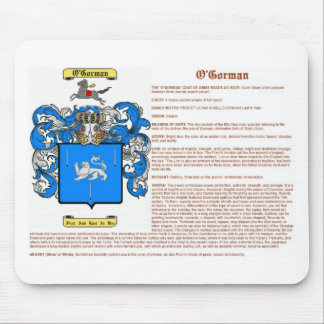 o'gorman (meaning) mouse pad