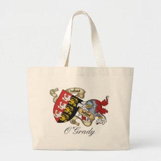 O'Grady Family Crest Canvas Bag