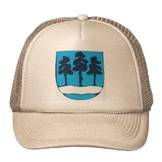 Ogre Latvia ts arms, Latvia Trucker Hats