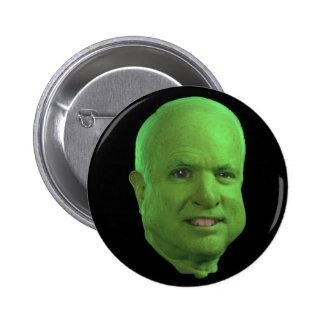 Ogre McCain Pinback Buttons