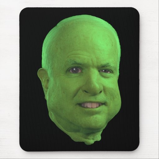 Ogre McCain Mouse Pad