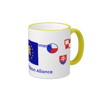 OGRE Pan Euro Alliance Ringer Coffee Mug