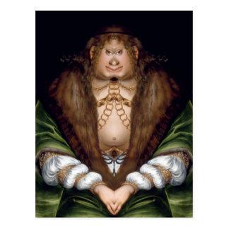 Ogress Queen Postcard