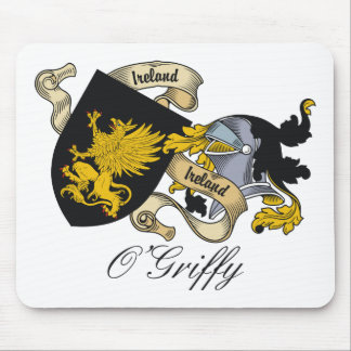 O'Griffy Family Crest Mouse Pad