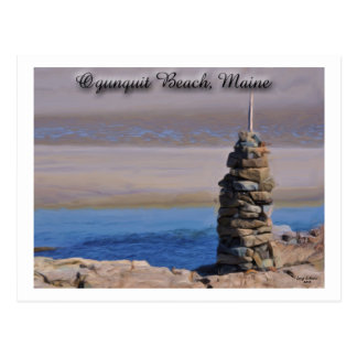 Ogunquit Beach Maine USA Postcard
