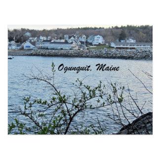 Ogunquit, Maine Tarjeta Postal