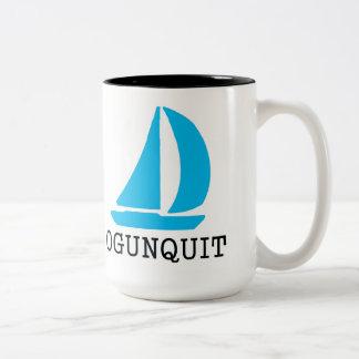 Ogunquit Taza De Dos Tonos