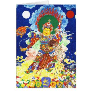 Ögyen Dzambhala [card] Greeting Card