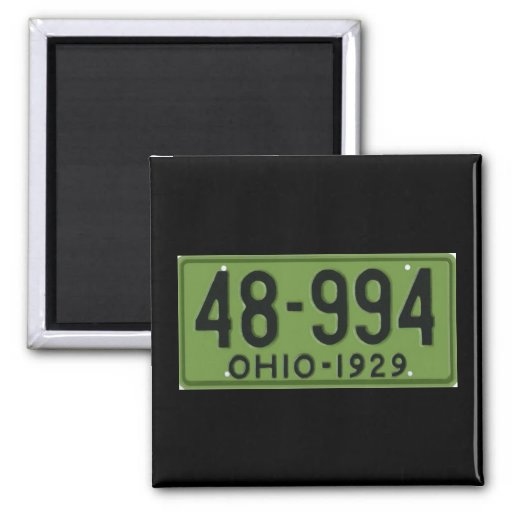 OH29 2 INCH SQUARE MAGNET