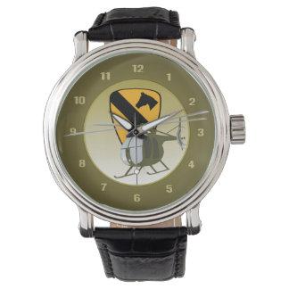 OH-6 Loach / Cayuse 1st Cav Wristwatch