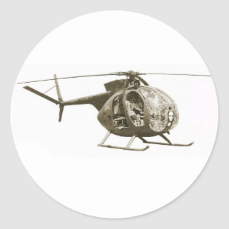 OH-6 Scout Stickers