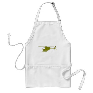 OH-6A Observation Helicopter Adult Apron