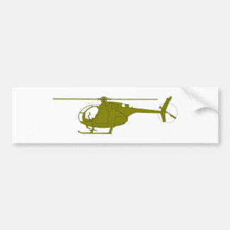 OH-6A Observation Helicopter Bumper Stickers