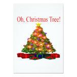 Oh árbol de navidad comunicado personal
