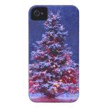 Oh árbol de navidad iPhone 4 carcasas