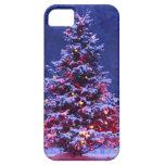Oh árbol de navidad iPhone 5 protectores