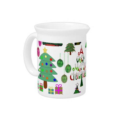 ¡Oh árbol de navidad! Jarrón