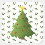 Oh árbol de navidad pegatina