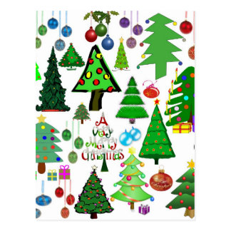 ¡Oh árbol de navidad! Postal