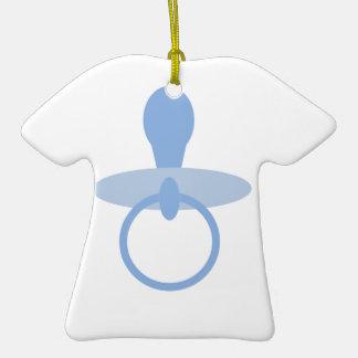 Oh azules cielos adorno de cerámica en forma de camiseta
