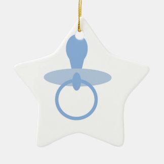 Oh azules cielos adorno de cerámica en forma de estrella