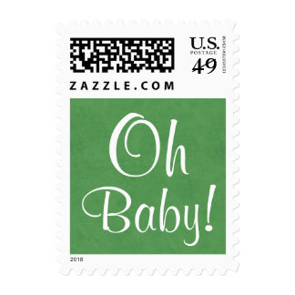 Oh Baby!  Baby Shower or Announcement V3 Postage