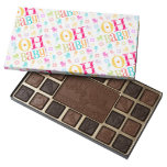 Oh Baby! Baby Shower or New Baby Gift 45 Piece Box Of Chocolates