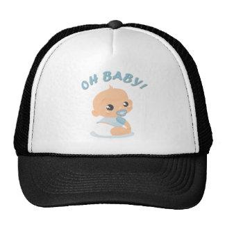 Oh Baby Boy Trucker Hat