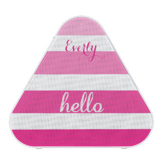 Oh Baby Personalized Pink Girly Girl Speaker